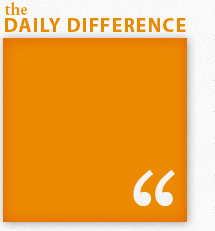 Insights from the Daily Difference blog